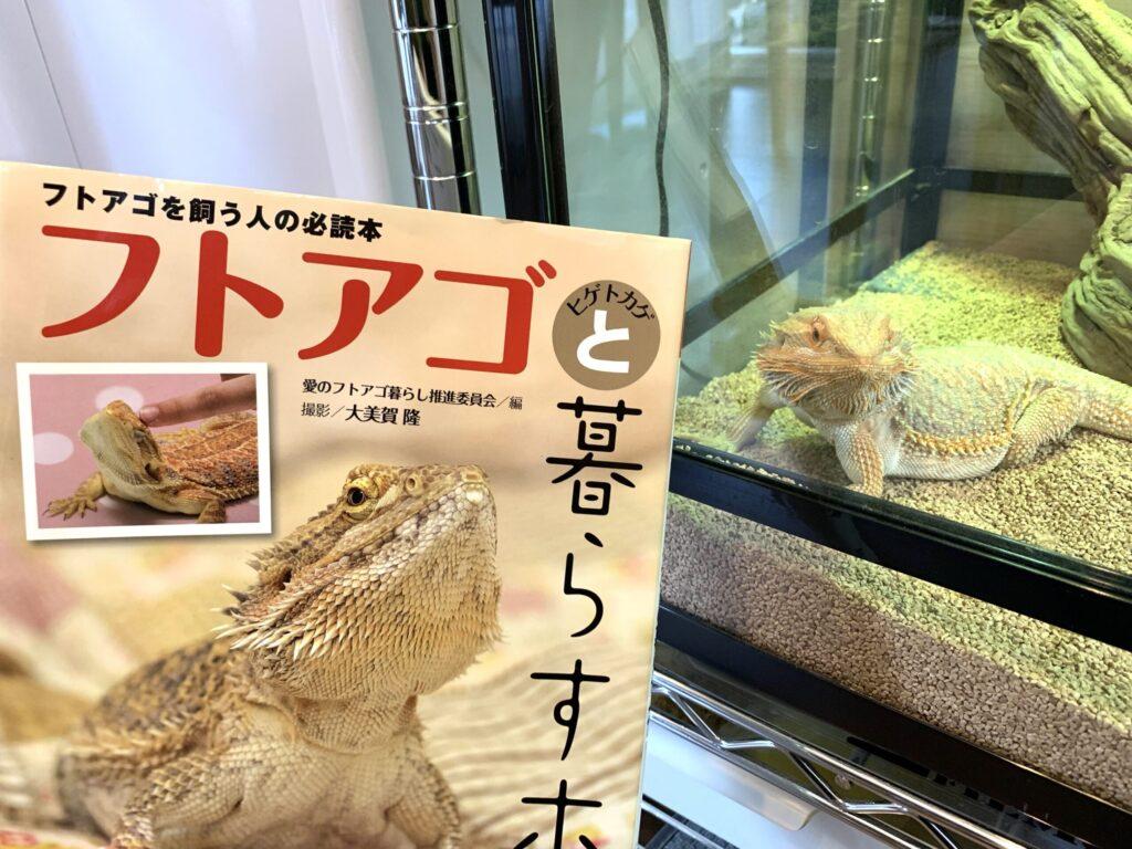 フトアゴヒゲトカゲの飼育本