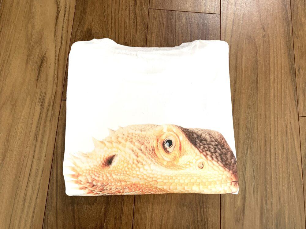 フトアゴヒゲトカゲのTシャツ